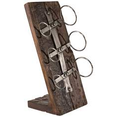 Uttermost Kelton Recycled Wood Wine Bottle Holder