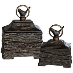 Uttermost Set of 2 Birdie Boxes
