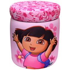 Nickelodeon Dora the Explorer Storage Ottoman