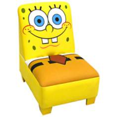 Nickelodeon Sponge Bob Squarepants Armless Chair