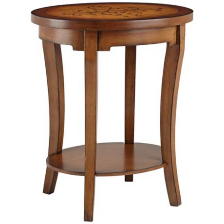 Sheila Oval End Table