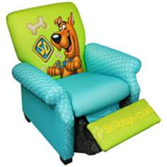 Warner Brothers Scooby Doo Deluxe Child Recliner
