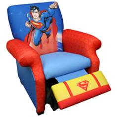 Warner Brothers Superman Deluxe Child Recliner