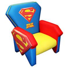 Warner Brothers Superman Icon Chair