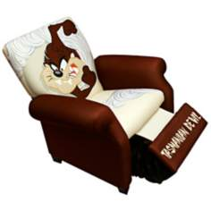 Warner Brothers TAZ Tasmanian Devil Child Recliner