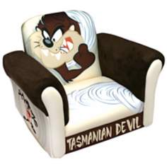 Warner Brothers TAZ Tasmanian Devil Deluxe Rocking Chair