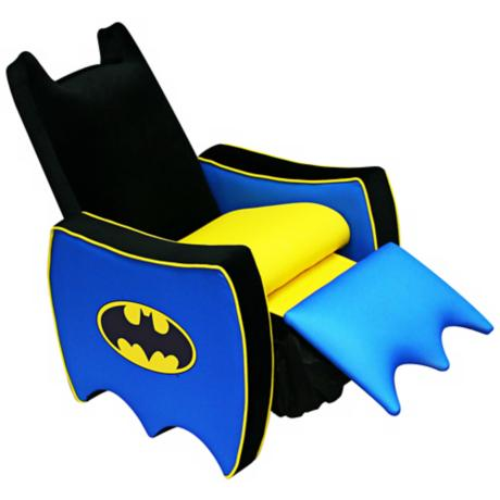 Warner Brothers Batman Icon Child Recliner