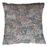"Knots Pastel 22"" Square Hand-Made Accent Pillow"