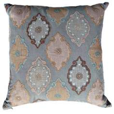 "Azare 22"" Square Pastel Down Accent Pillow"