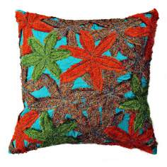 "Reef Bright 22"" Square Hand-Made Accent Pillow"