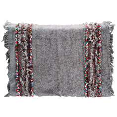 Desert Braid Decorative Wool Throw Blanket