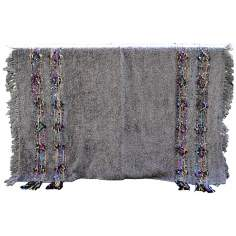 Desert Confetti Decorative Wool Throw Blanket