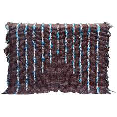 Kona Brown Decorative Wool Throw Blanket