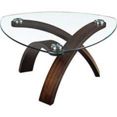 Allure Walnut Coffee Table