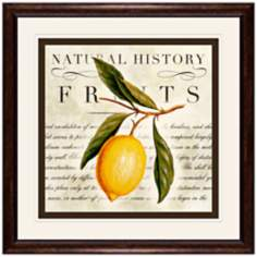 "Lemons 18 1/2"" Square Fruit Wall Art"