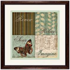 "Renew 18 1/2"" Square Inspirational Wall Art"