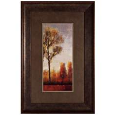 "Tall Trees II 36"" High Nature Scene Wall Art"