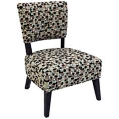 Funky Mosaic Club Chair