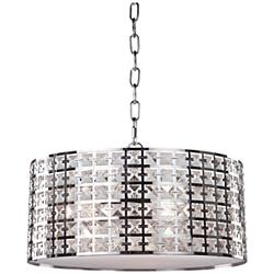 "Artcraft Coventry 14 3/4"" Wide Chrome Pendant Light"