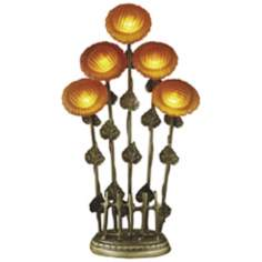 Dale Tiffany Sunflower Glass Table Lamp