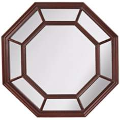 "Murray Feiss Camden 30"" High Octagon Wall Mirror"