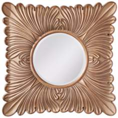 "Murray Feiss Blair 35 1/4"" High Square Wall Mirror"