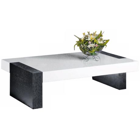Marymount Black and White Coffee Table