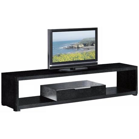 Lenox Black Espresso Flat Screen TV Stand