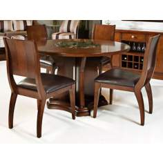 Park Ave. 5-Piece Dark Cherry Dining Set