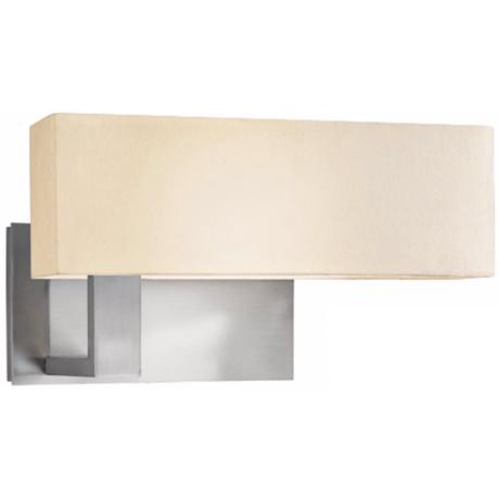 Sonneman Mitra Compact Nickel Right-Swing Arm Wall Light