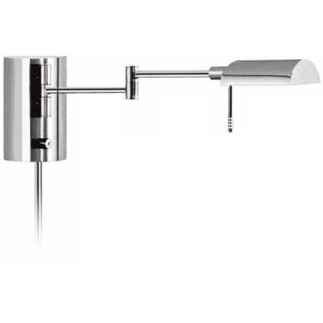 Sonneman D-Lite Polished Chrome Swing Arm Wall Light