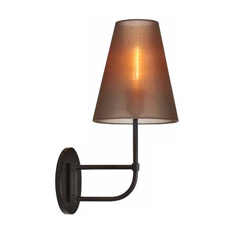 "Sonneman Bistro 17 1/2"" High Bronze Organza Wall Sconce"