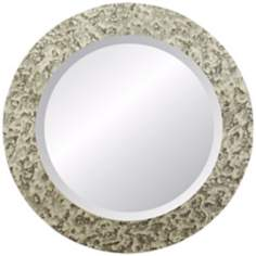 "Moulin Rouge Cabriolet 30"" Round Wall Mirror"