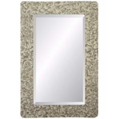 "Moulin Rouge Castleton 36"" High Rectangular Wall Mirror"