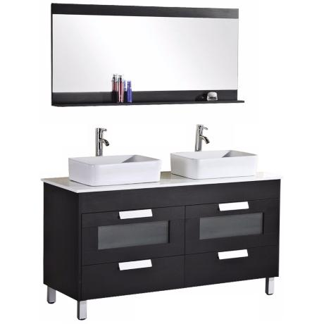 "Francesca 55 1/4"" Double Sink Vanity Set"