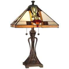 Dale Tiffany Natalie Mission Style Table Lamp