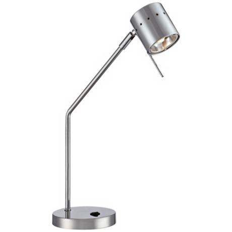 LED Spot Chrome Desk Lamp
