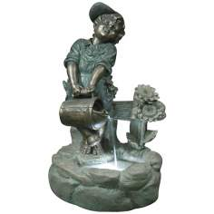 Watering Boy LED Light Fountain