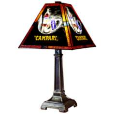 Dale Tiffany Campari Handale Art Glass Table Lamp