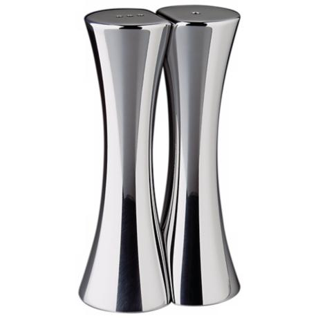 Nambe Kissing Silver Salt and Pepper Shaker Set of 2