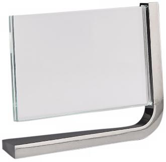 Nambe Movie Horizontal 4x6 Glass Metal Photo Frame (X3894)