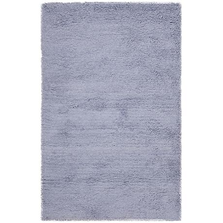 Shag Collection SG140C Lilac Shag Area Rug