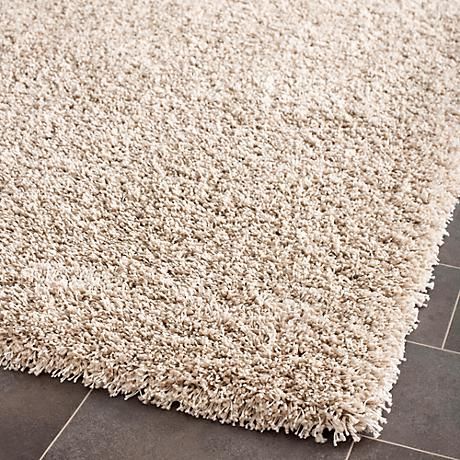 Shag Collection SG151-1313C Beige Shag Rug