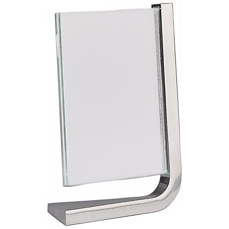 Nambe Movie Vertical 5x7 Metal and Glass Photo Frame