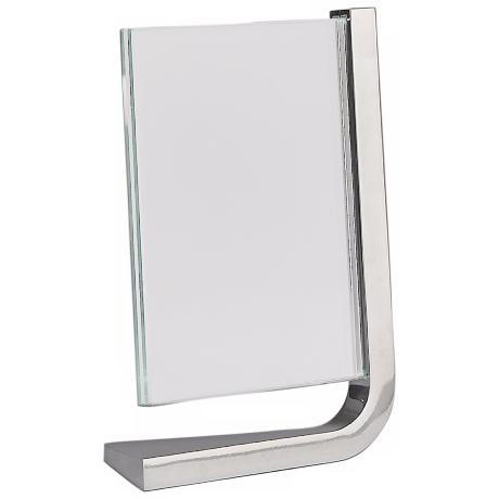 Nambe Movie Vertical 8x10 Metal and Glass Photo Frame