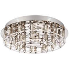"Possini Euro Metropoli 17"" Wide LED Ceiling Light"