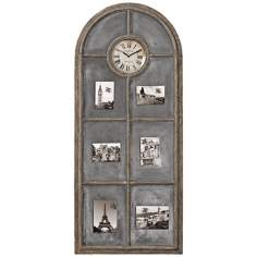"Uttermost Beckton 55"" High Wood Wall Clock"