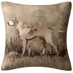 Woolrich Hadley Dog Plaid Accent Pillow