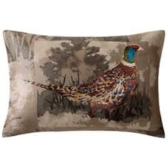 Woolrich Hadley Bird Plaid Accent Pillow
