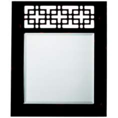 "Kichler Fretwork 36"" High Rectangular Wall Mirror"